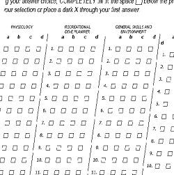 PADI Instructor Exam questions